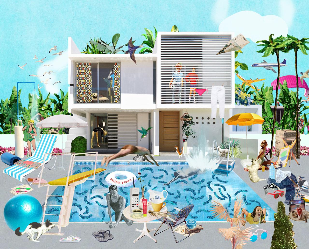 Sanda Anderlon A Lively Pool Scene
