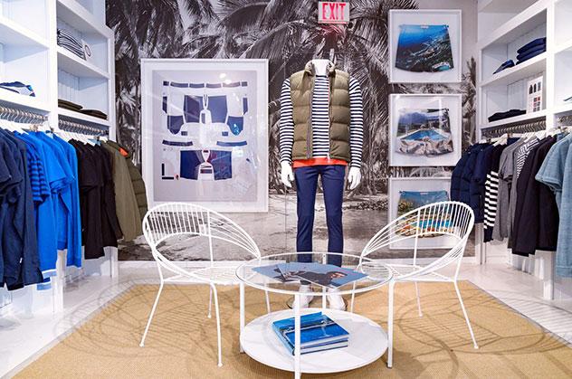 Orlebar Brown East Hampton Store in New York.