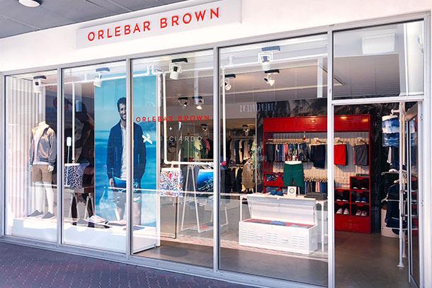 Orlebar Brown Store in Bondi Beach, Australia.