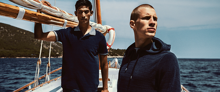 terry cloth shirts & towelling polo shirts