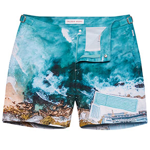 Orlebar Brown Design Your Own Swimshorts #Snapshorts by Nicola Litson