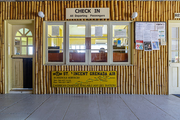 Orlebar Brown - Mustique Airport