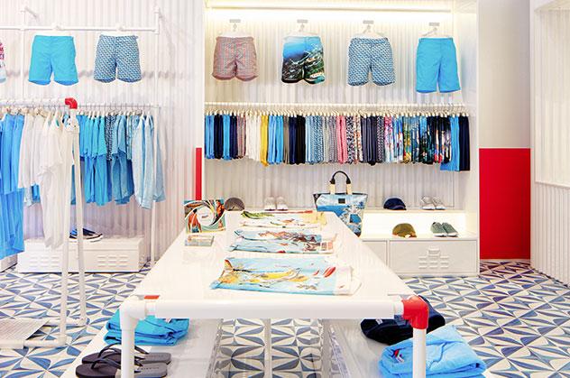 Orlebar Brown Dubai Mall Store in United Arab Emirates.