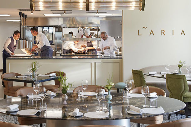 Lake Como Fine Dining at Laria