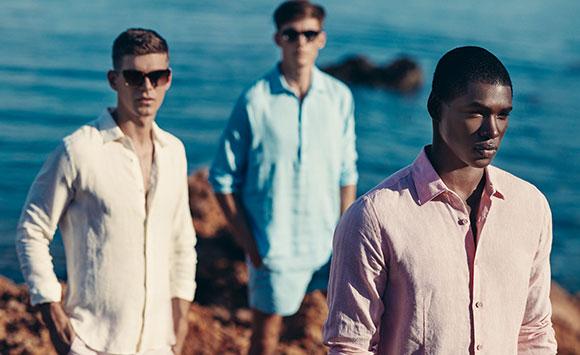 Linen clothing for men