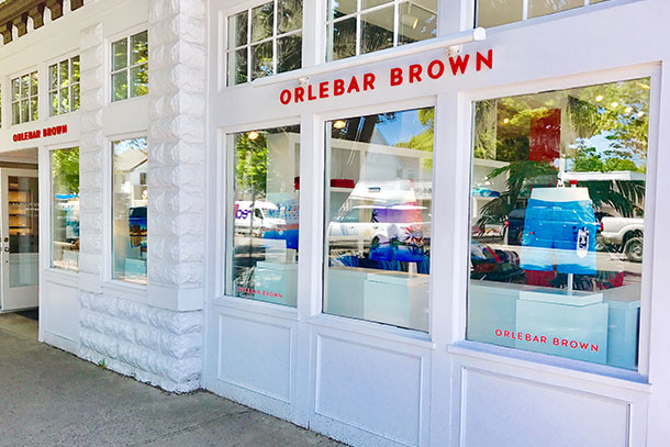 Orlebar Brown East Hampton Store in New York.