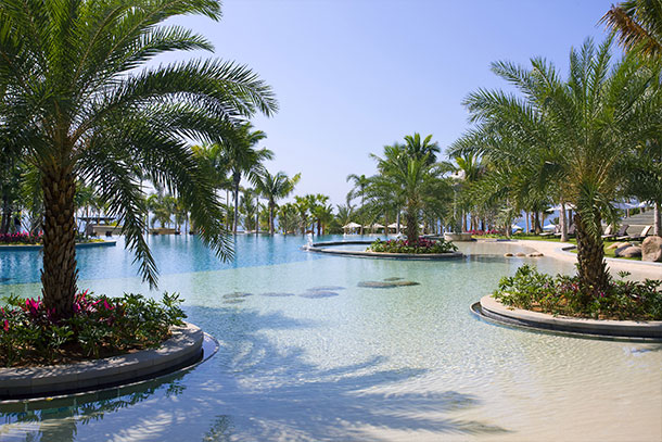 Orlebar Brown Sanya Leisure Swimming Pool