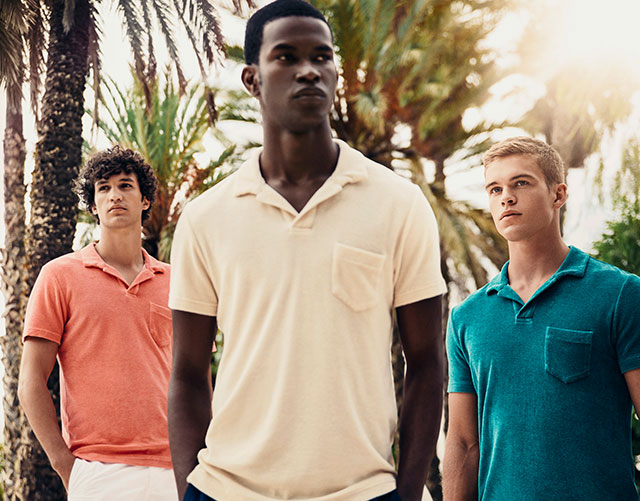 Terry, The Tailored Towelling Polo