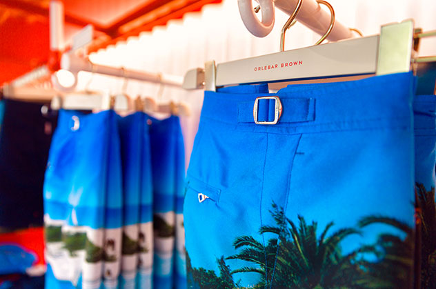Orlebar Brown Palm Beach Store in Florida.