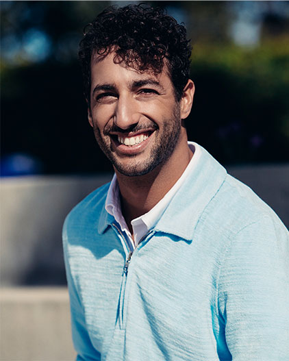 Orlebar Brown + Daniel Ricciardo