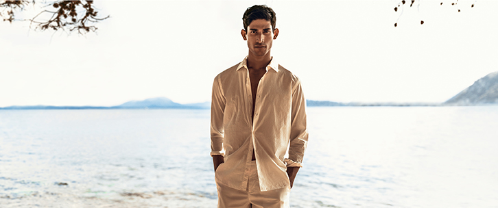Linen clothing for men